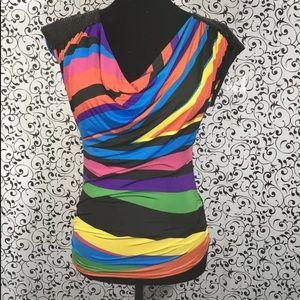 Topia multicolored blouse